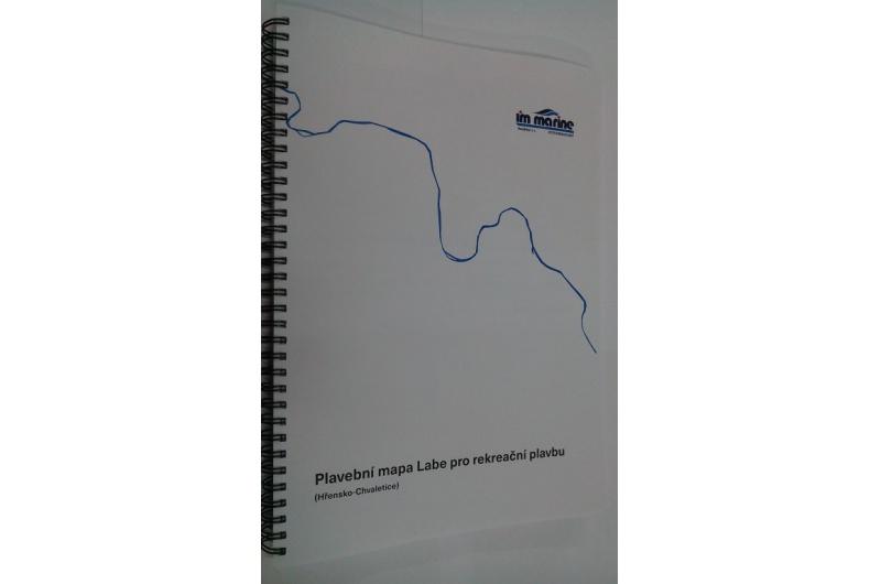Plavebni Mapa Labe Im Marine